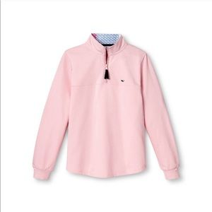 Vineyard Vines Sweaters - *Firm* NWT Vineyard Vines for Target pink 1/4 zip